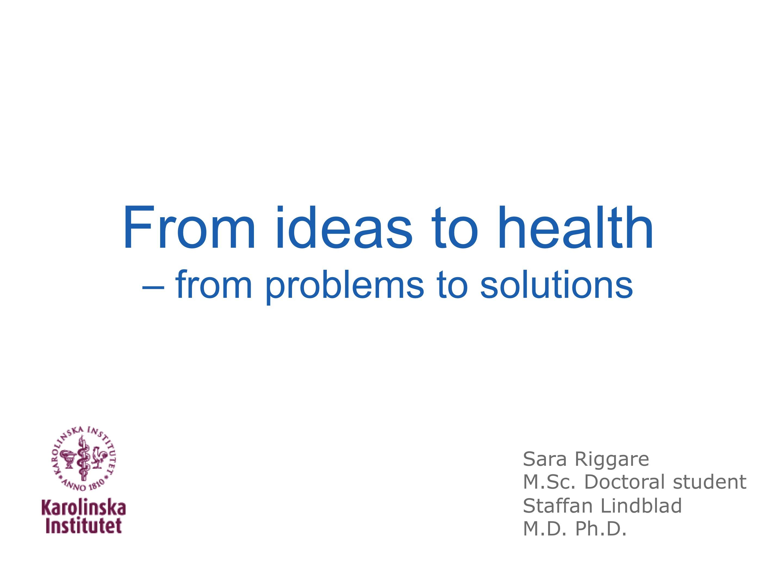 health presentation ideas